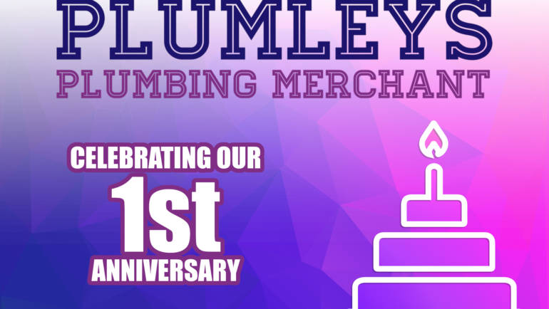 Plumleys Celebrates 1 year Anniversary!