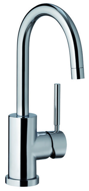 Ohio Basin Mixer Curved Spout