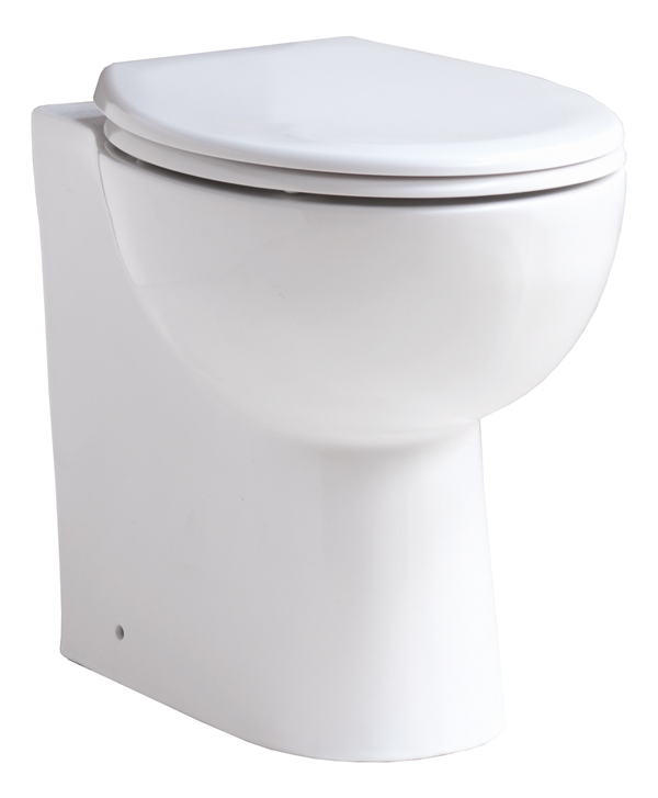 Comfort Elevated Height Back-to-Wall Pan & Soft Close Seat