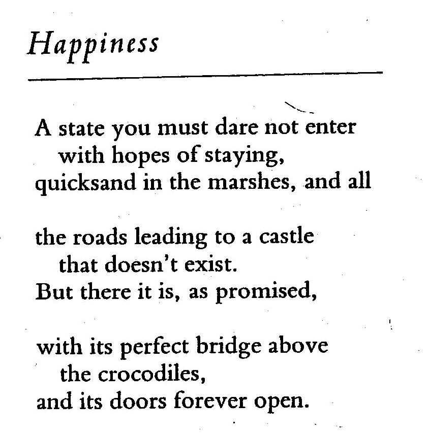 Happiness Poems 1