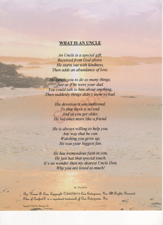 Funeral Poems For Uncle 3