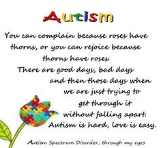 Poems About Autism 2