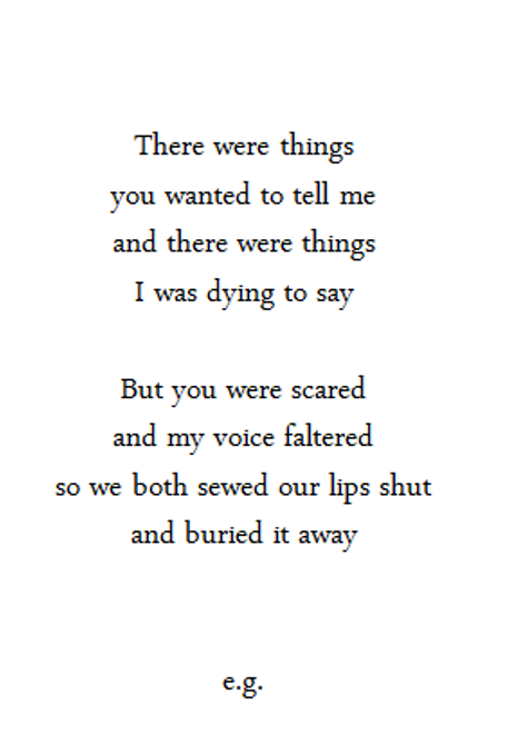 Poems About Dying 1