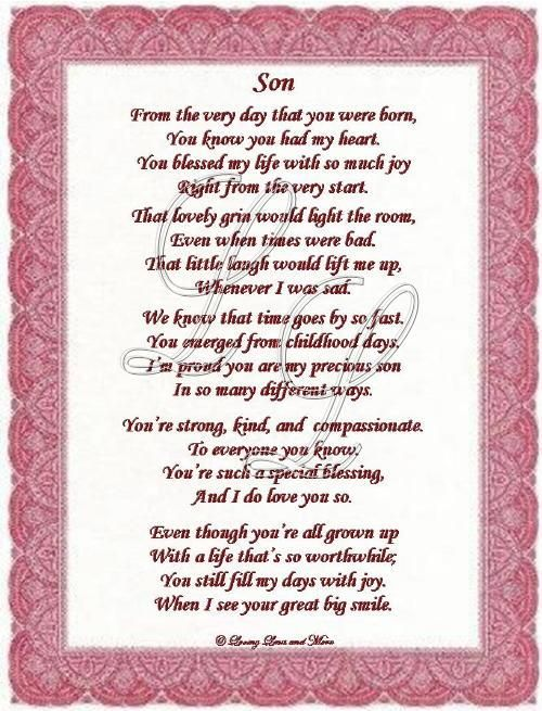 Mother And Sons Poems 5