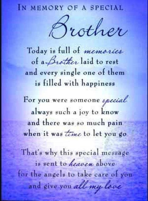 I Miss You Brother Poems Death 6