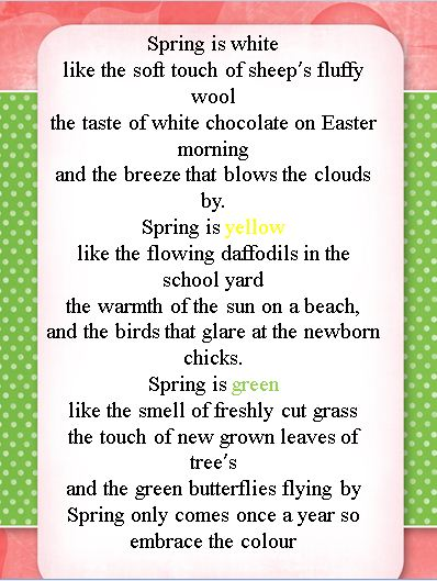 Famous Spring Poems 2
