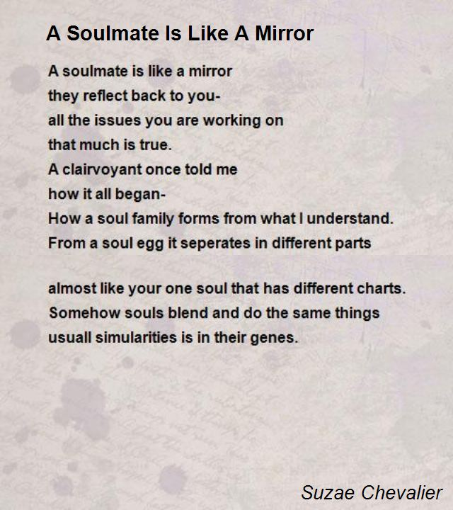 My Soul Mate Poems 1