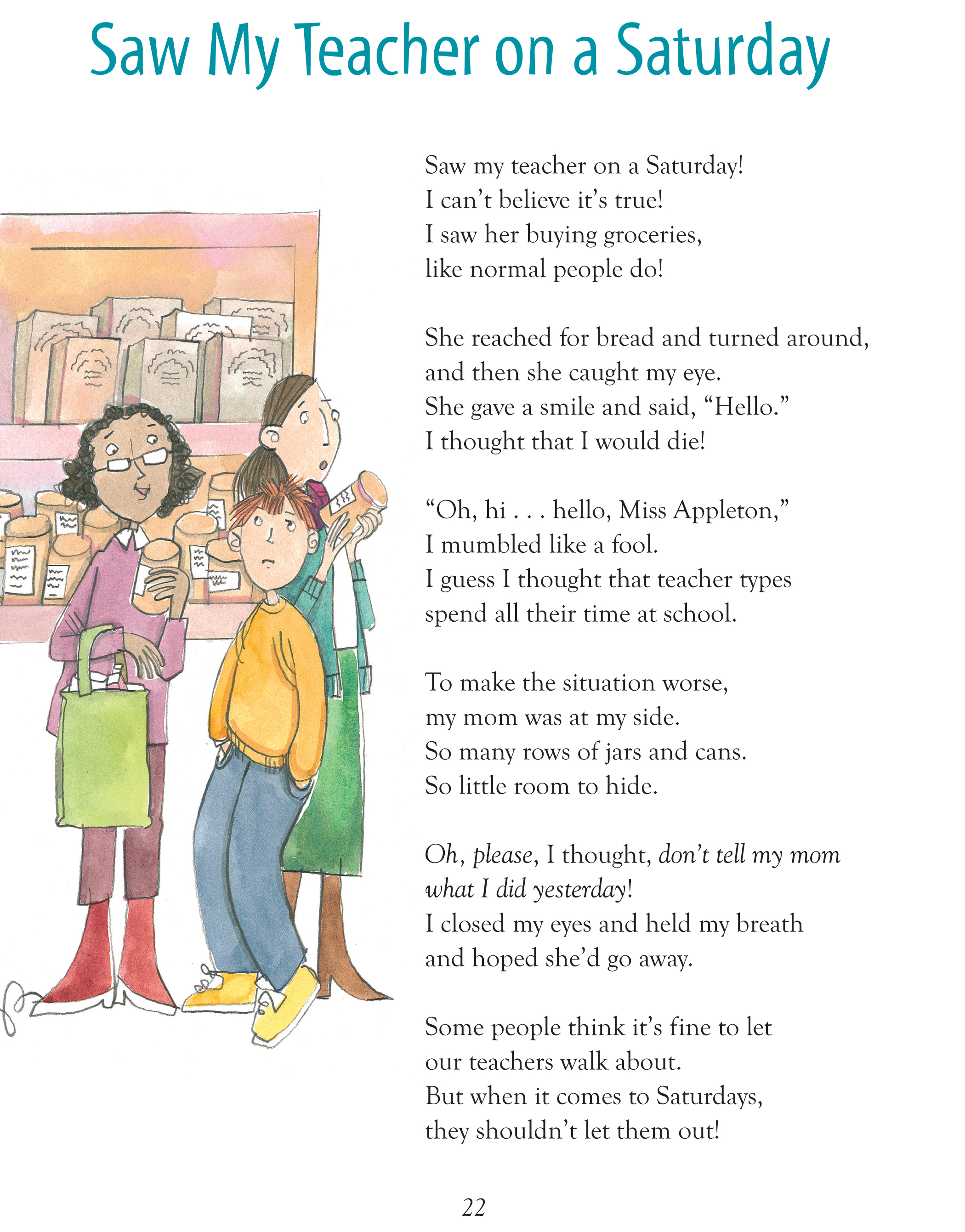 Funny Childrens Poems 5