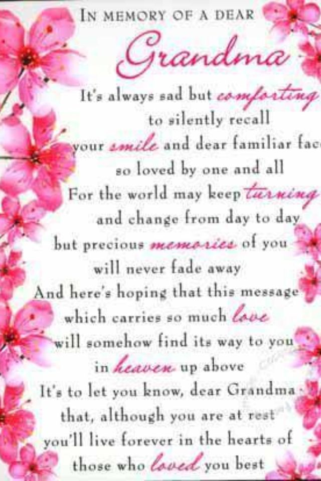 Mothers Day Poems For Grandmas 2