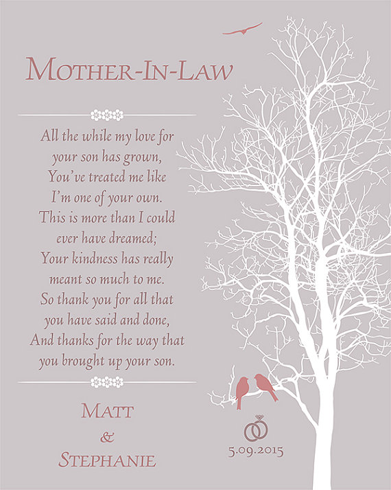 Poems For Mother In Laws 6