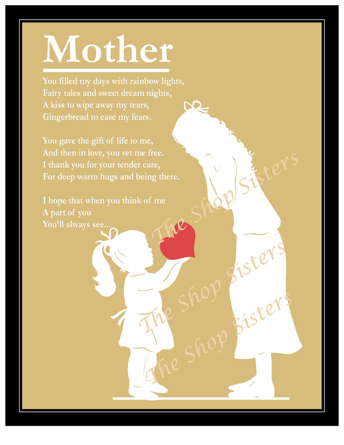Poems About Mother And Daughters 6