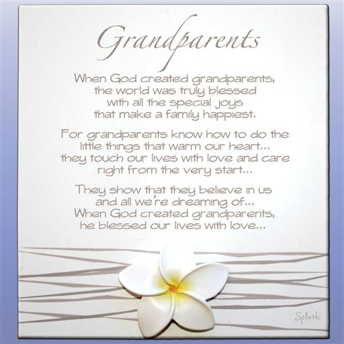 Poems For Grand Parents 3