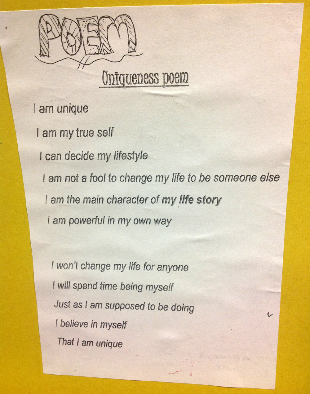 Free Verse Poems About Life 6