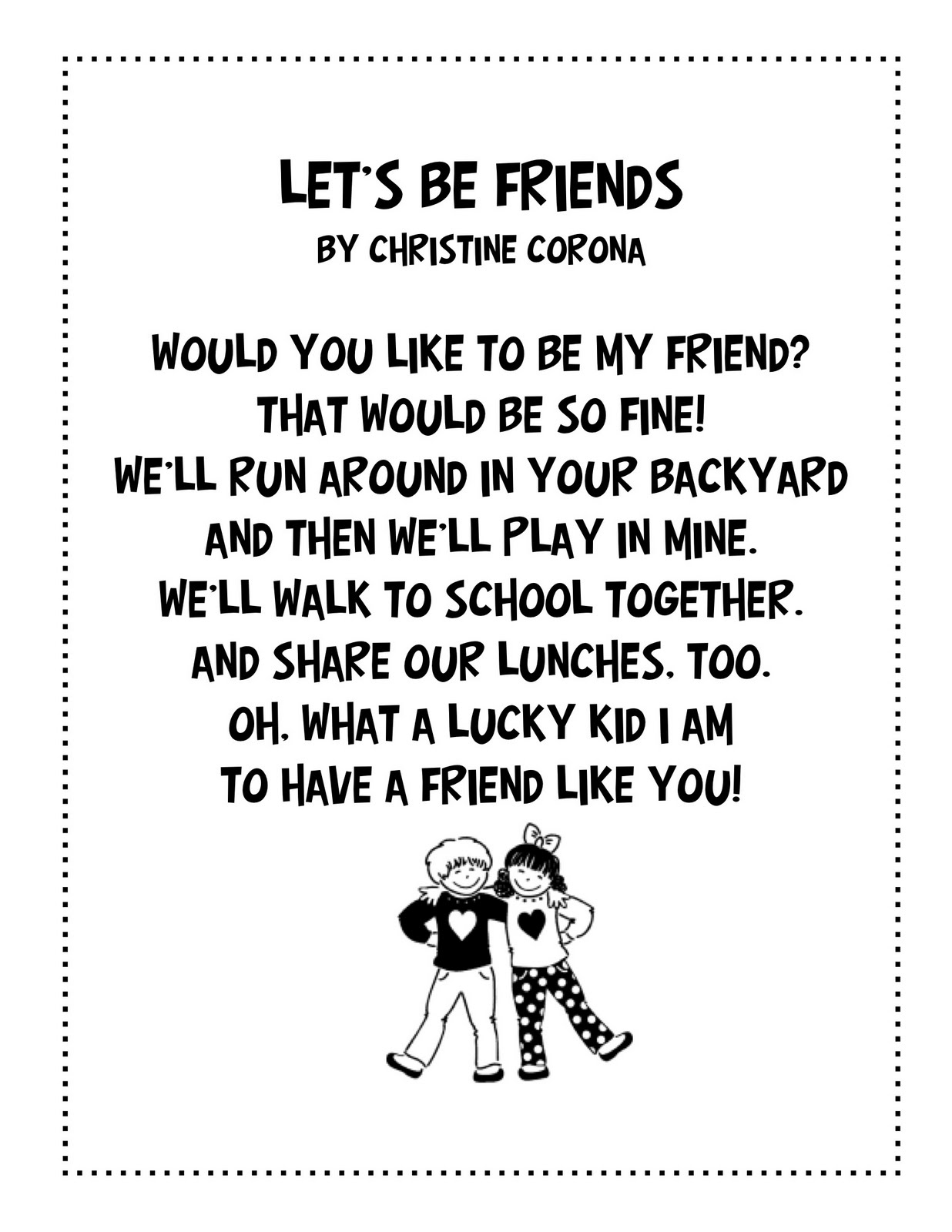 Poems For 2nd Grade 1