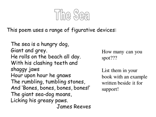 Famous Poems With Figurative Language 5
