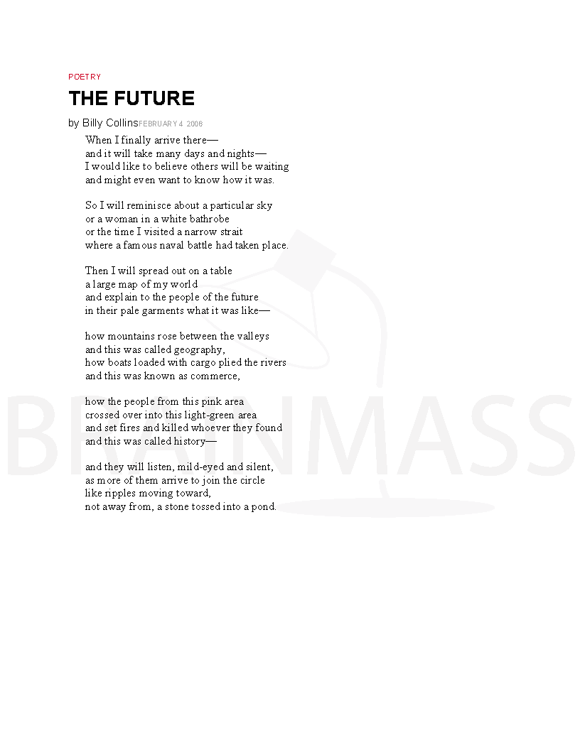 Poems About The Future 5