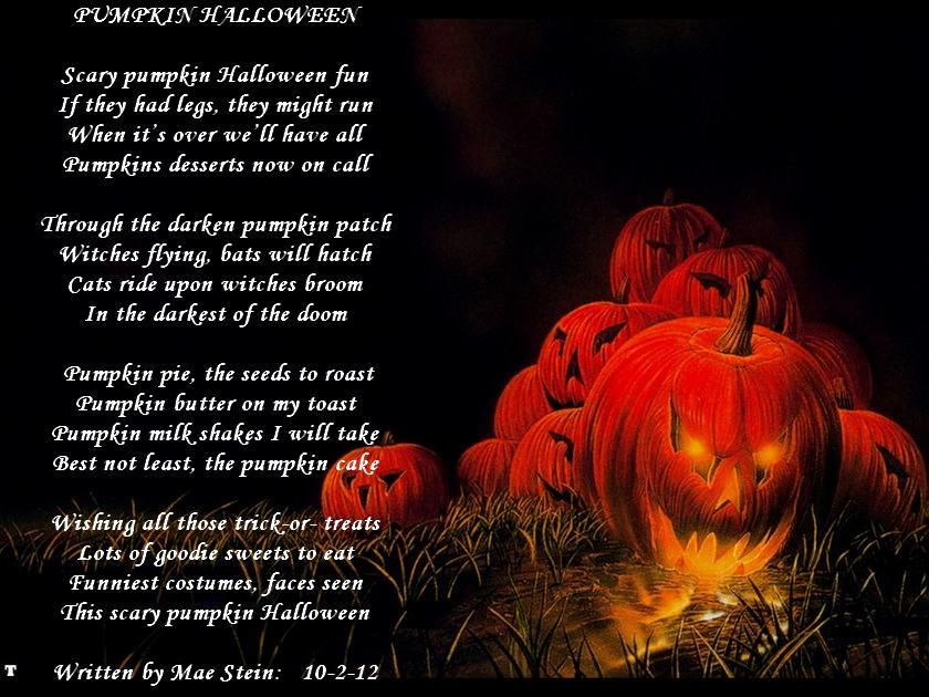 Scary Halloween Poems 3