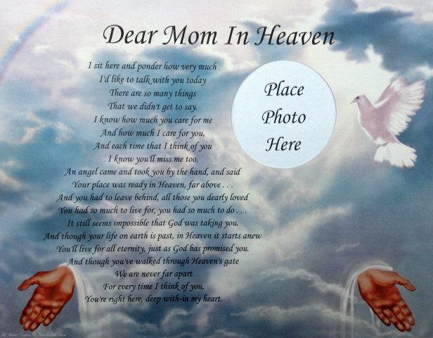 Poems For Mom In Heaven 2