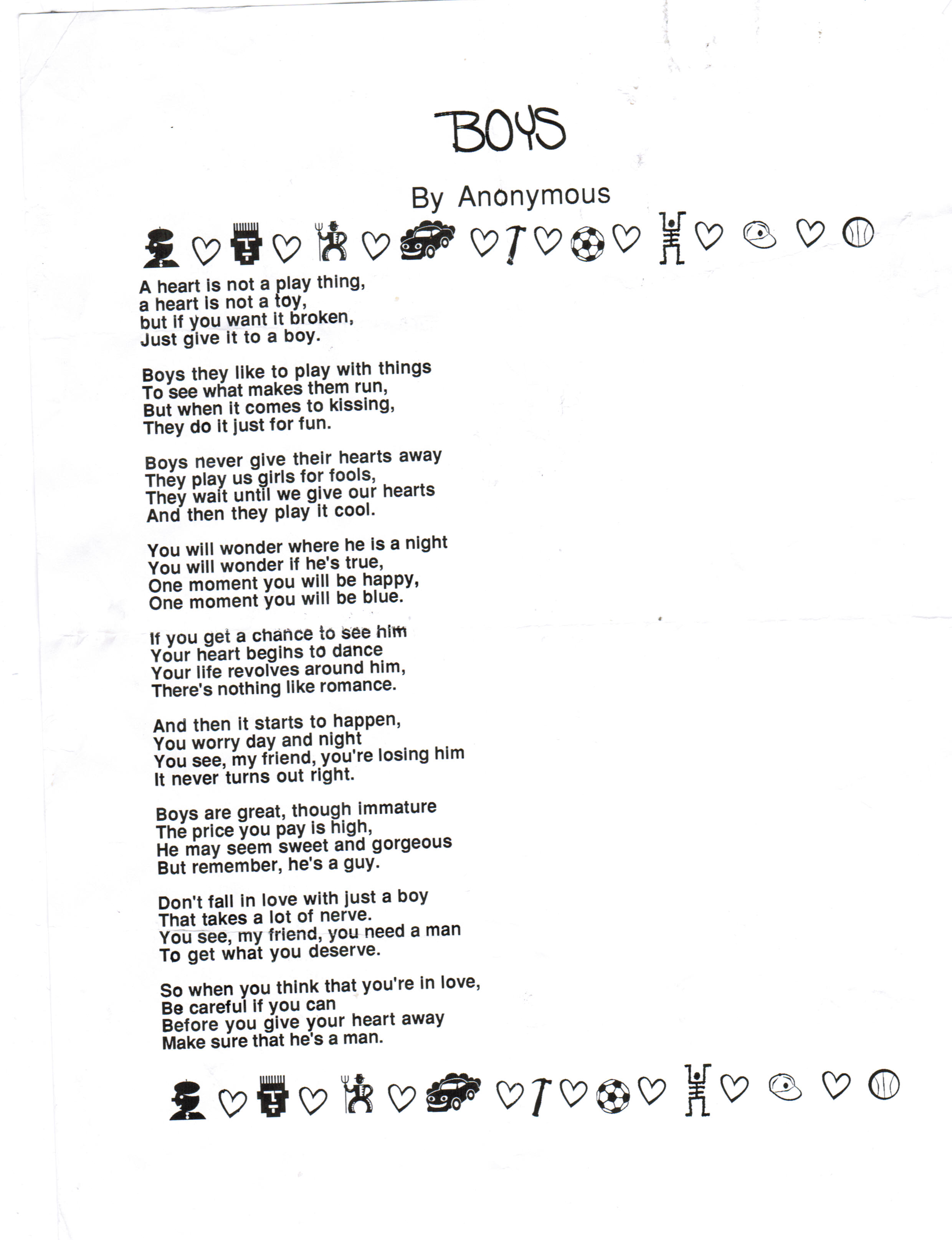 Poems About Gender 5