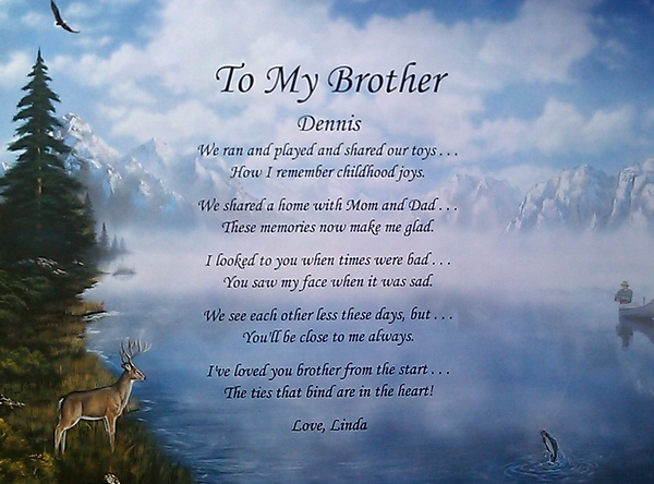 Funeral Poems For Brother 2
