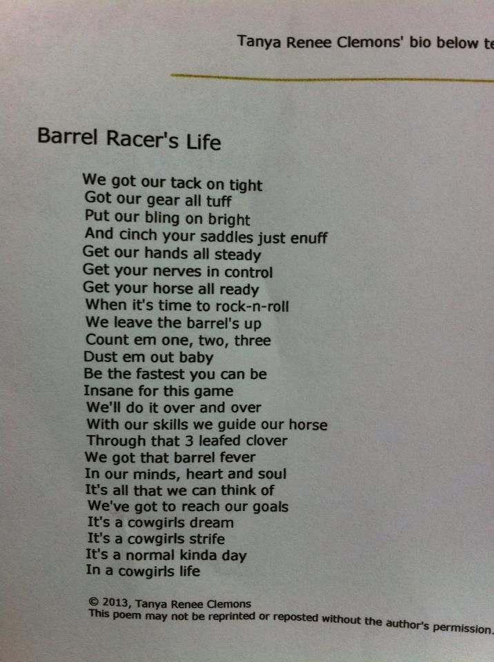 Poems About Races 7