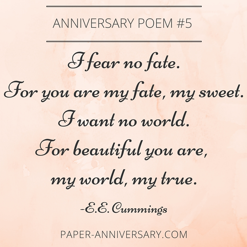Anniversary Poems For Her 5