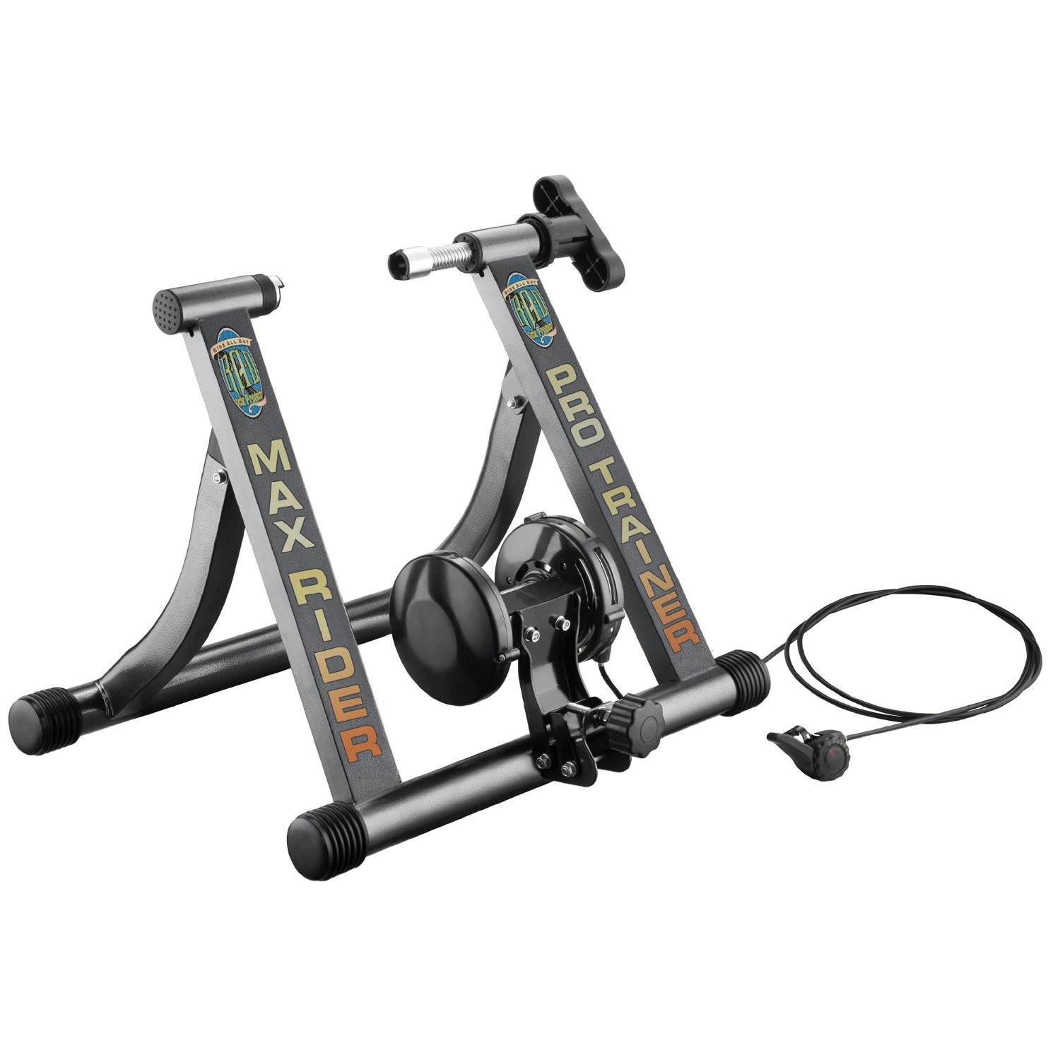RAD Cycle Products Indoor Portable Magnetic Workout Bicycle Trainer