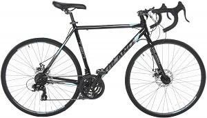 Vilano Tuono 2.0 Aluminum Road Bike 21 Speed Disc Brakes, 700c