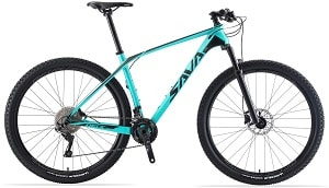 SAVADECK DECK300 Carbon Fiber Mountain Bike 27.5 29 Complete Hard Tail MTB Bicycle 30 Speed