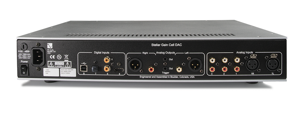PS Audio Stellar Gain Cell DAC Black