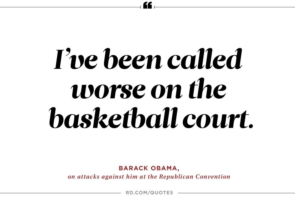 Barack Obama S Best Jokes And One Liners Reader S Digest