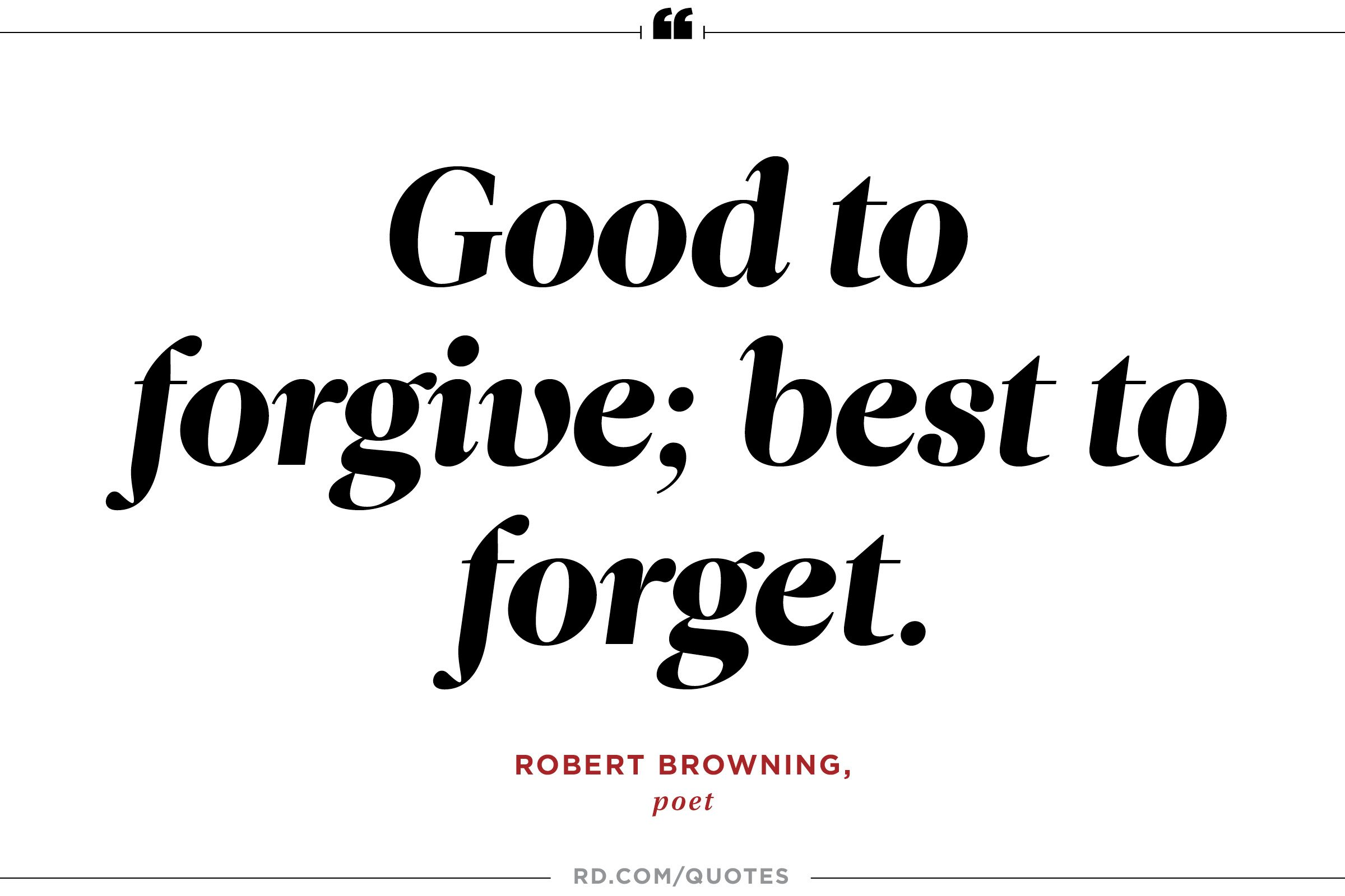 Forgive And Forget Quotes 6
