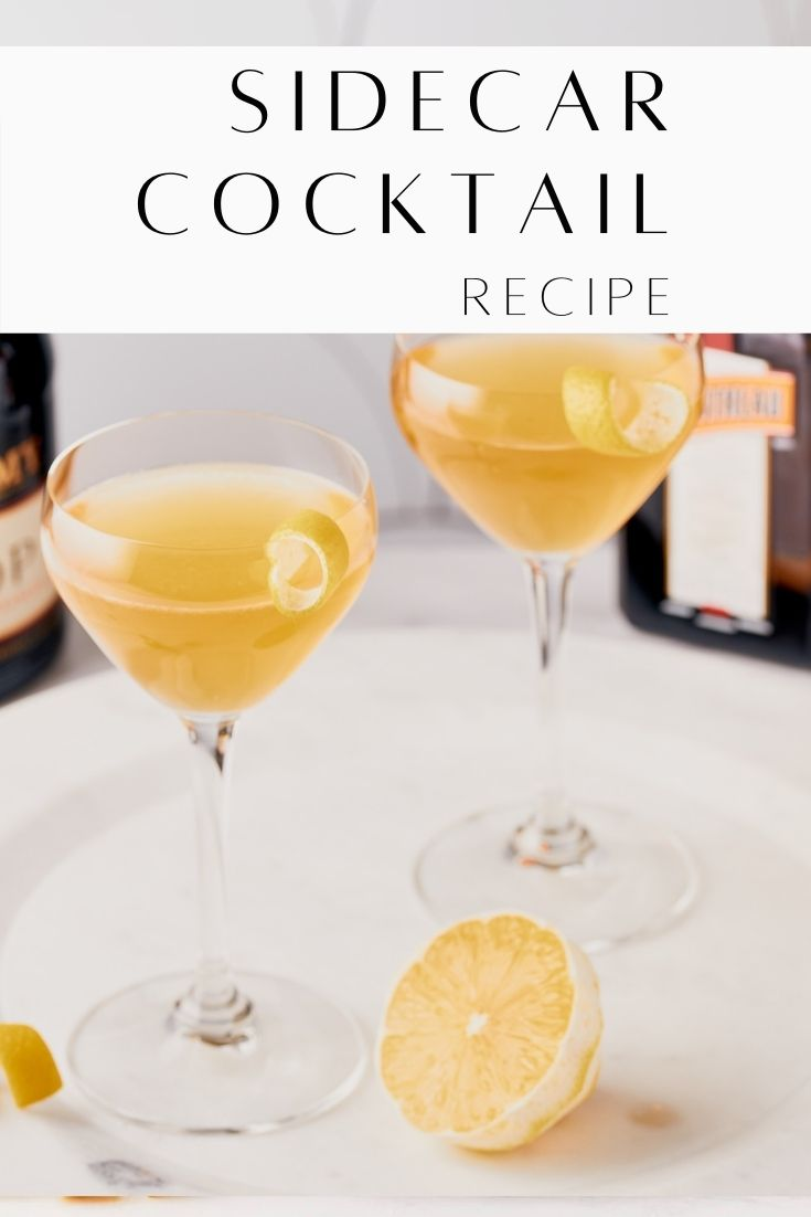 Sidecar Cocktail Recipe Resplendent Kitchen pin