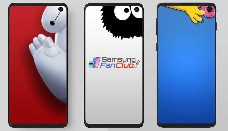 galaxy s10 camera punch hole wallpapers download