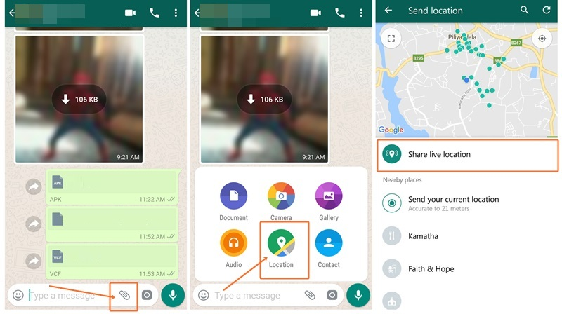 How To Share Live Location Of Whatsapp On Android Galaxy S10 Plus Samsung Fan Club This is an online quiz called where do i live? whatsapp on android galaxy s10 plus