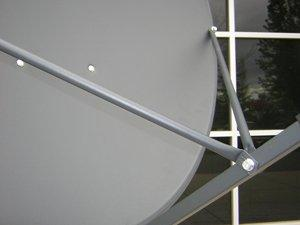 Geosatpro 90cm / 36″ offset satellite dish with glorystar logo