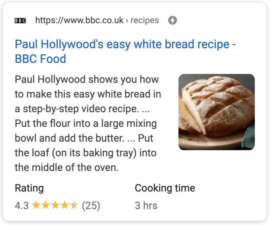 how to make bread rich results