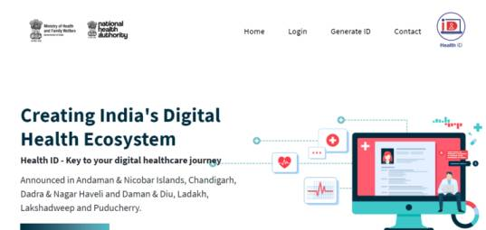 NHA One Nation One Health ID Website, How to apply PM Modi Health Card online, PM Modi Health Card