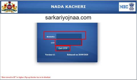 Nadakacheri Online Application , nadakacheri income certificate