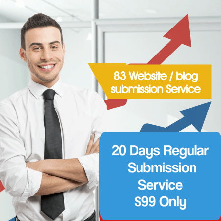 83 website blog submission service