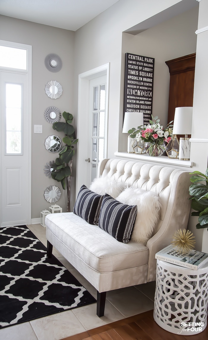 How To Create A Mirror Gallery Wall Setting For Four