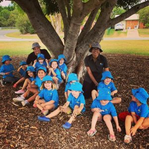Our children getting out and exploring the local park Deception Bay Child Care