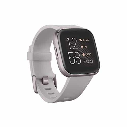 fitbit fb507gysr versa 2 health fitness smartwatch with heart rate music