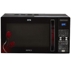 IFB 30 L Convection Microwave Oven 30FRC2 Floral Pattern (Black)