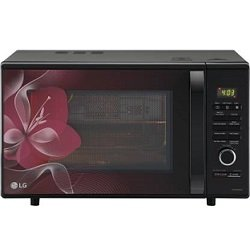 LG 28 L Charcoal Convection Microwave Oven-MJ2886BWUM Floral Diet Fry With Starter Kit