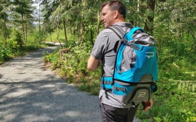 Our Review of the Paxis Swing Arm Easy Access Backpack