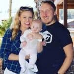Photo of family who worked with a Sleepably sleep coach for babies.