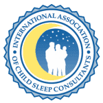 Logo for the International Association of Child Sleep Consultants