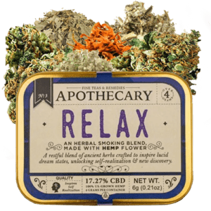 Relax-CBD-Smoking-Flower - Brothers Apothecary