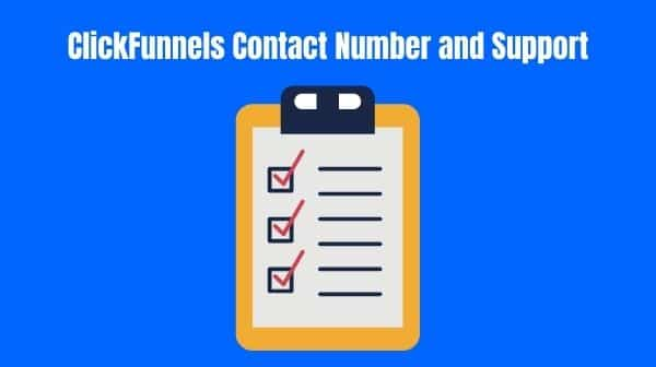 ClickFunnels Contact Number and Support